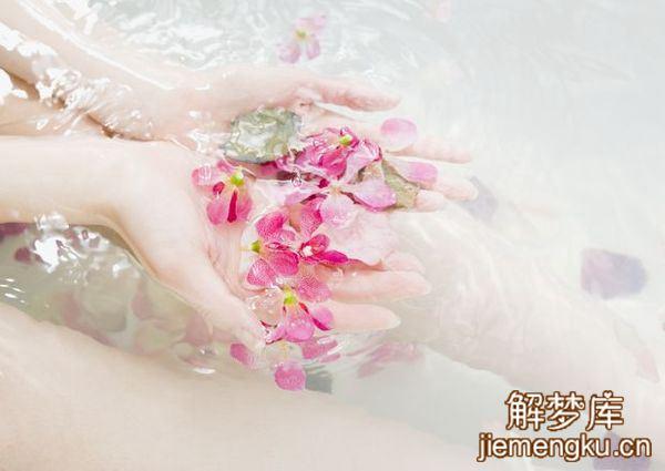 梦见带儿子洗淋浴